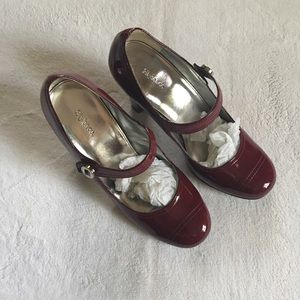 Style & Co. maroon shoes